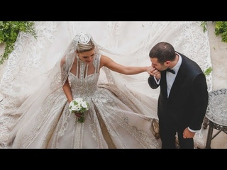 This Bride Wore Not One But TWO ELIE SAAB Wedding Dresses !