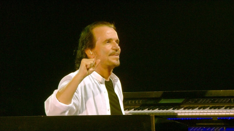 Yanni Live Standing in Motion Nostalgia Al Ula Saudi Arabia