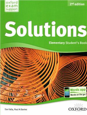 Oxford. Solutions Edition Elementary (A1-A2)