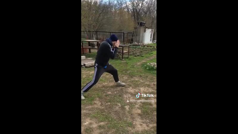 Мастер спорта по боксу Никита Бадалян