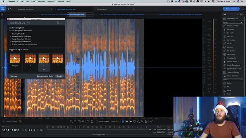 [Yorshoff Mix] Удаляем артефакты записи в RX7 4 декабря [Yorshoff Mix]