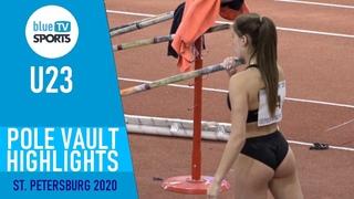 Pole Vault Highlights   U23 Russian Indoor Championships 2020