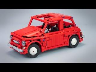 Lego Technic - Fiat 500 F (1965)