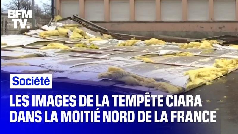 Tempête Ciara il a soufflé jusqu'à 181 km h en France