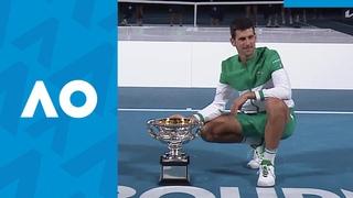 Novak Djokovic vs Daniil Medvedev Extended Highlights (F) | Australian Open 2021