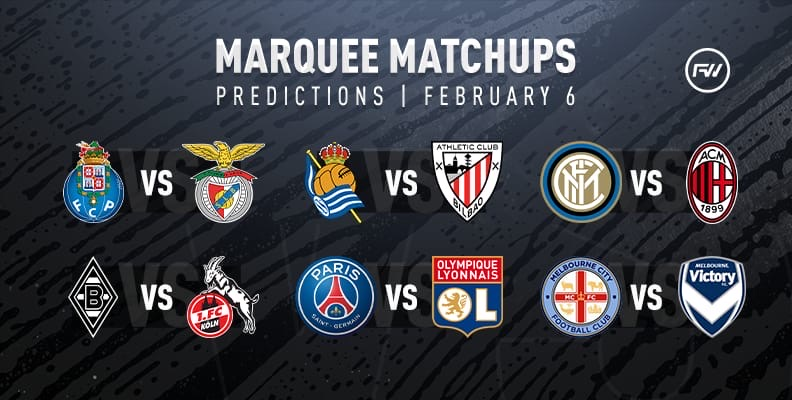 FIFA 20 Marquee Matchups Predictions: February 6th