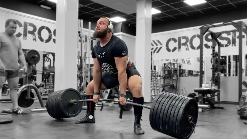 Луговой Александр Лучшие тяги 400 и 400