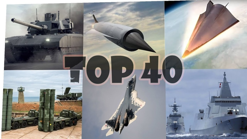 Russian Army Weapons Top 40