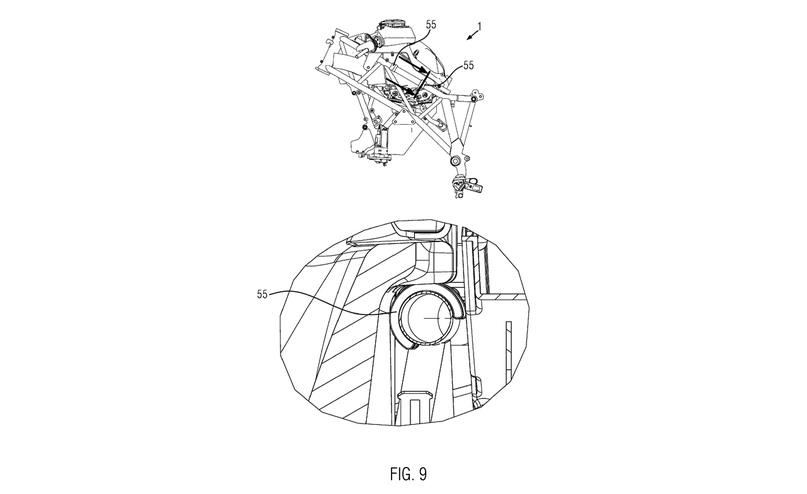 KTM 1290 Super Adventure 2021 засветился на патентных схемах