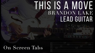 This Is A Move (Brandon Lake) Electric Guitar Tutorial w/ Tabs