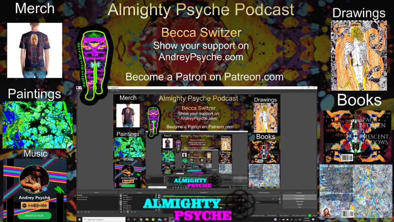 Almighty Psyche Podcast feat Becca Switzer