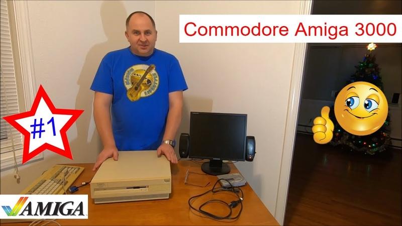 Восстановил и Модифицировал Commodore Amiga 3000 Моё новое хобби (часть 1)