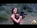 КРАСИВЫЕ И ОПАСНЫЕ/ Девушки с оружием/ Нарезка приколов Женщина и оружие/ Приколы и неудачи 1