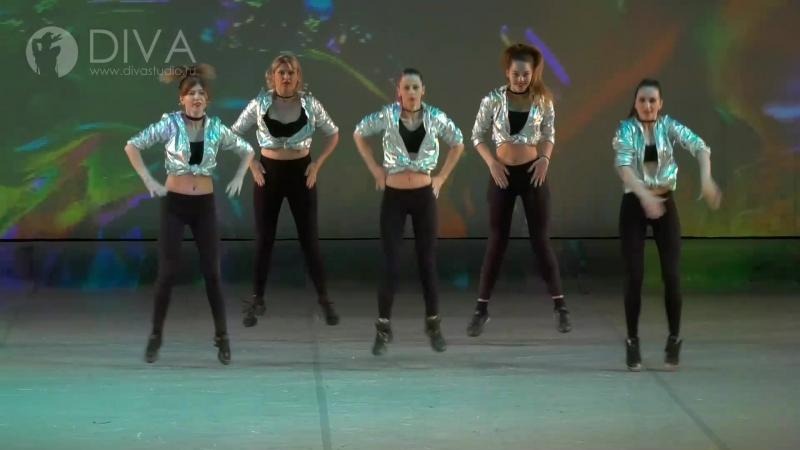 Гоу-гоу, хореограф Екатерина Данник - школа танца DIVA Studio