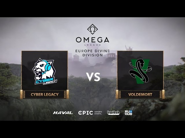Cyber Legacy vs Voldemort OMEGA League Europe bo3 game 1 Jam Lost