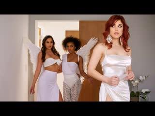Demi Sutra, Molly Stewart, Desiree Dulce - Sky Bound: Part 4 (Big Tits, Lesbian, Threesome, Ebony, Brunette, Natural Tits)