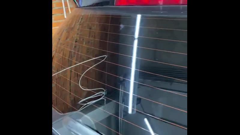 Тонировка задней полусферы пленкой Luxman 15% Наш автосервис предлагает и немного более бюджетную тонировочную пленку Luxm