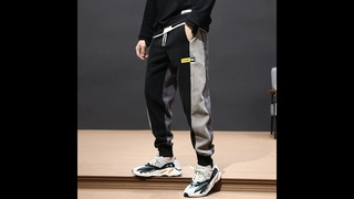Осень зима, модные мужские джинсы, свободные, сшитые, дизайнерские, повседневные, вельветовые брюки карго, шаровары, брюки в