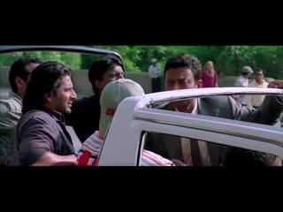 Четвёрка сумасшедших. Индийский фильм. 2008 год. В ролях: Ирфан Кхан. Джухи Чавла и другие.