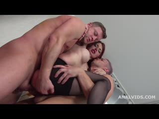 Lelya Mult Welcome to Porn with 3on1 Balls Deep Anal, DP, Gapes, Manhandle and Cum in Mouth [Anal,Gangbang,Gape, DP РУССКАЯ 18+]