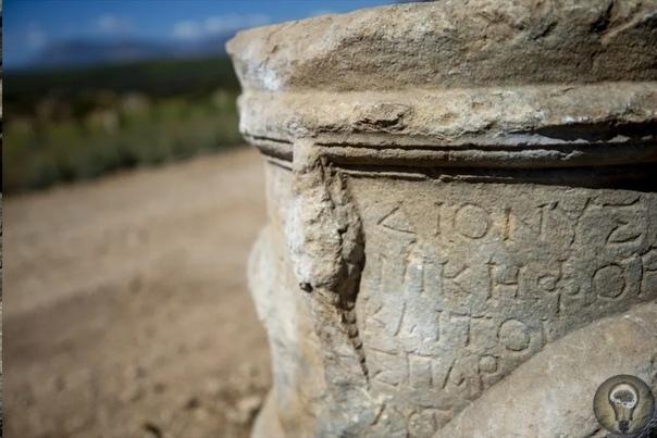 Интересная археологическая находка в Турции Турецкие, а вслед за ними и мировые СМИ сейчас тиражируют новость о том, что в провинции Анталья при раскопках в античном городе Патара был найден
