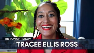 Girlfriends Inspired Tracee Ellis Ross to Launch Her Hair Care Brand   The Tonight Show