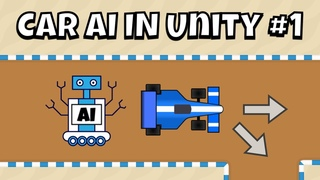 How to create an AI Bot Race Car Controller in Unity tutorial Part 1 - Waypoints
