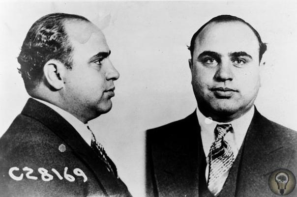 Достоверно установлено, что глава мафиозного клана Аль Капоне лично приказал убить около 400 человек из числа своих недоброжелателей и конкурентов.