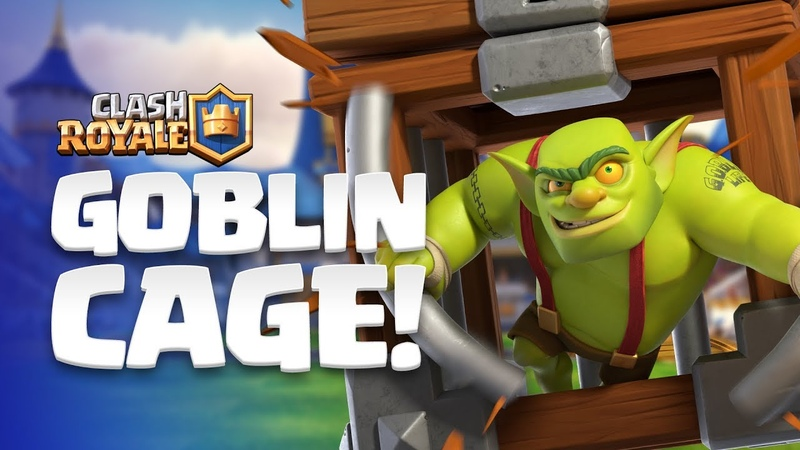 Clash Royale NEW CARD REVEAL 😲 Goblin Cage enters the Arena