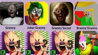 Granny,Ice Scream,Granny Secret,Ice Scream 3,Branny Granny,Ice Scream 2