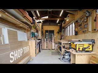 Making Furniture In A Small Workshop - The Best Layout For A Single Car Garage