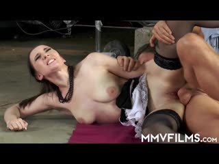 MMVFilms Alina Lamour Good Impression De MMV Films Hardcore Creampie Deep Throat MILF German Porn Public Maid