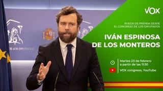🔴 DIRECTO: Rueda de Prensa de Iván Espinosa