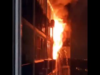 Пожар на Одоевского