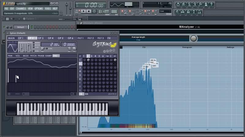 Sytrus 09 из 16 Как работает FM синтез
