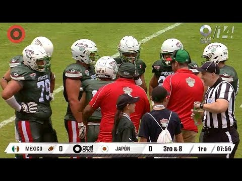Japan vs Mexico [IFAF Junior World Championship 2018