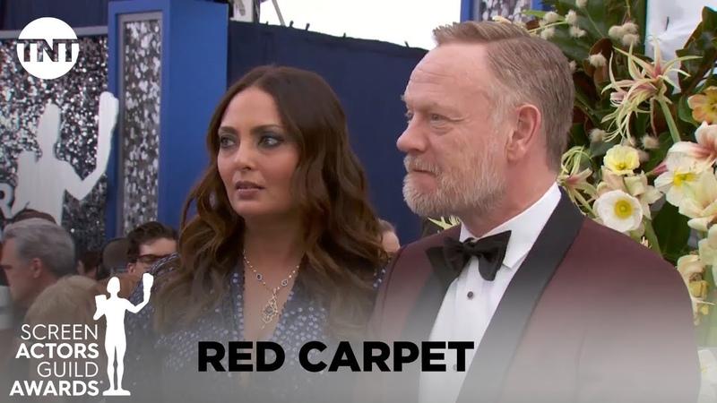 Jared Allegra Harris: Red Carpet Interview   26th Annual SAG Awards   TNT