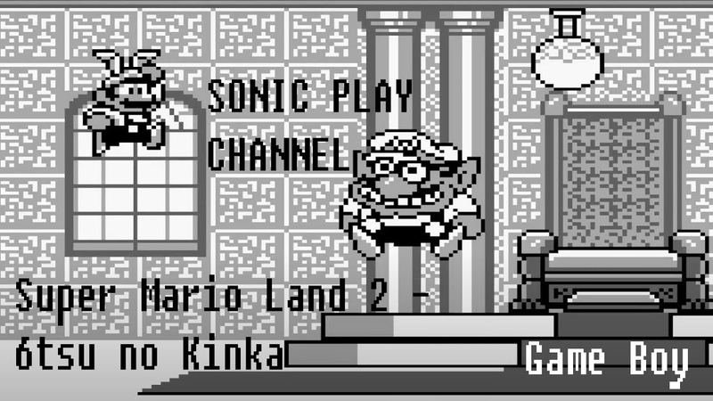 Super Mario Land 2 6tsu no Kinka ➤ Прохождение ➤ Game Boy