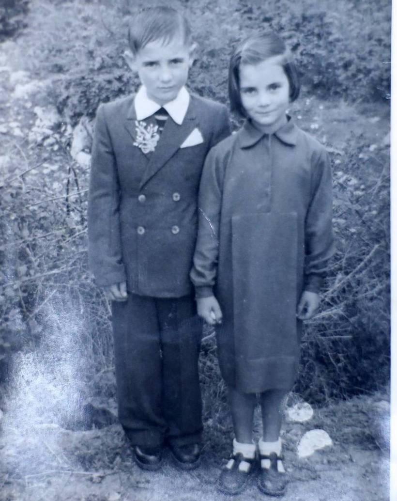 С сестрой Марией