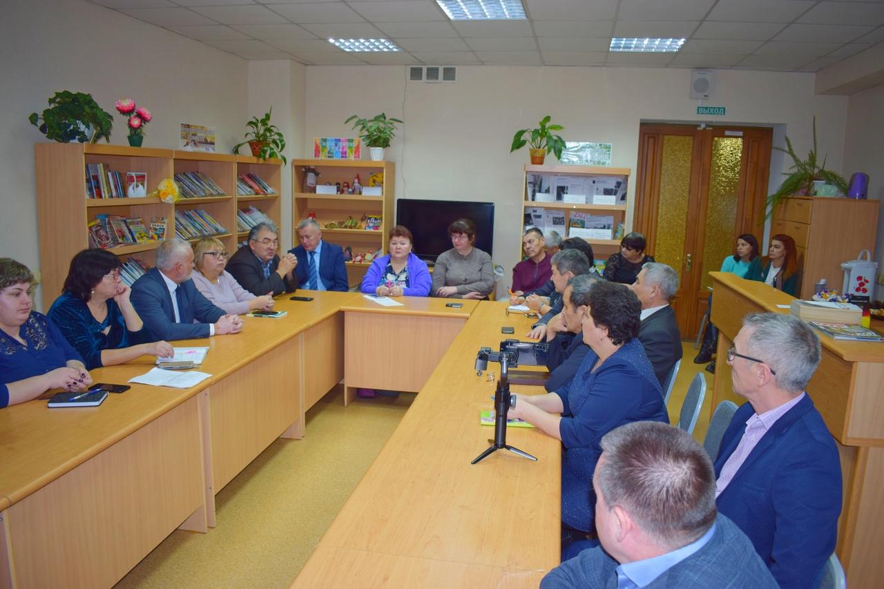 Заседание совета Тара Андрей Худолеев Татары РТНКА Маданият