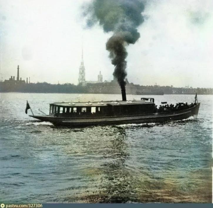 Эксклюзивные цветные фотографии Петербурга начала 20 века - часть 2, изображение №11