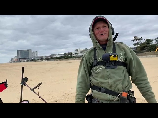 Minelab Vanquish 540 Finds 14kt Gold Diamond Ring Beach Metal Detecting