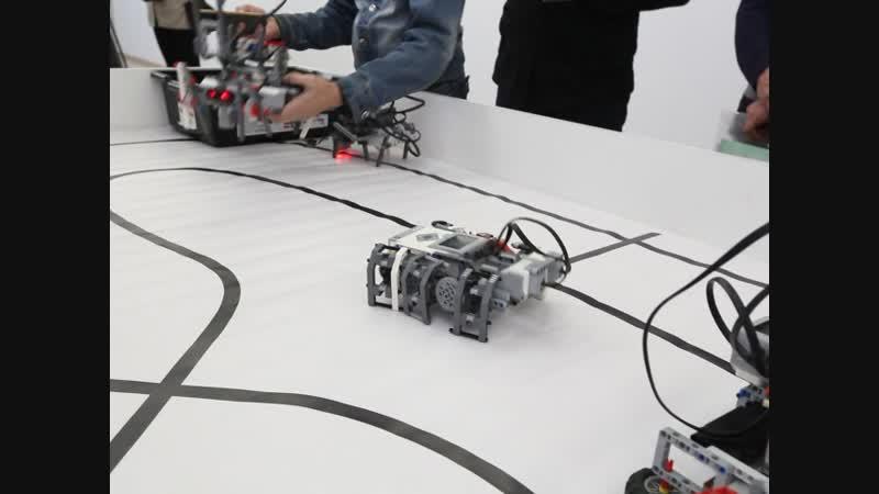 Техногород Булат, студия робототехники. Фрагмент 2. Видео: Ловцов О.Б.