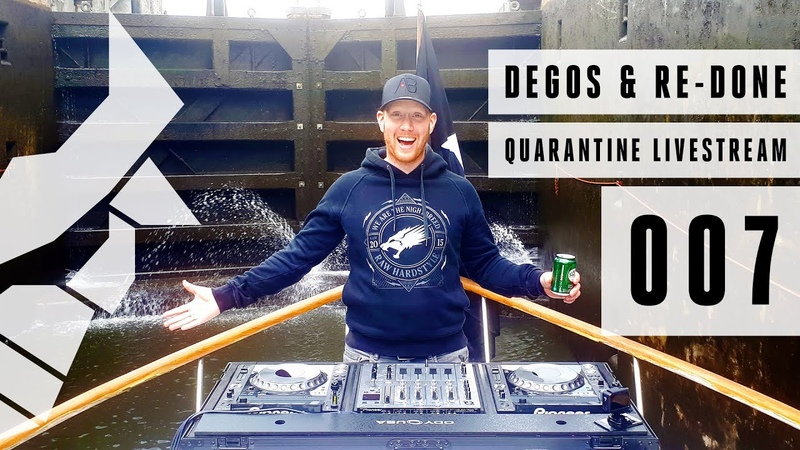 Degos Re Done Hardstyle Quarantine Livestream 007 Risk The Dark