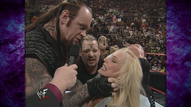 The Undertaker w/ The Ministry Attempts to Sacrifice Debra!? (Ministry v2 Theme Debut) 4/12/99