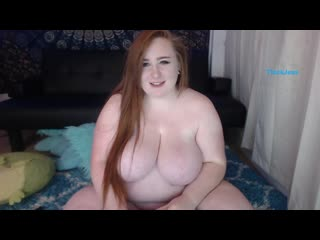 ThickJess [BBW, Big Tits, Big Ass, MILF, Solo, Masturbation, Porn, Порно, Толстушка, Пышка]