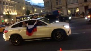Москва на ушах. Испания - Россия 1-1 (3-4 пен). Как это было.
