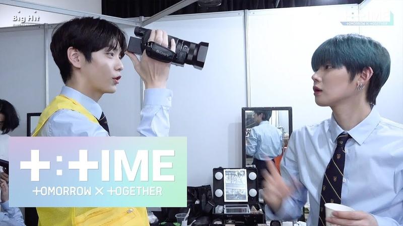 [TTIME] YEONJUN SOOBIN play with the camcorder - TXT (투모로우바이투게더)