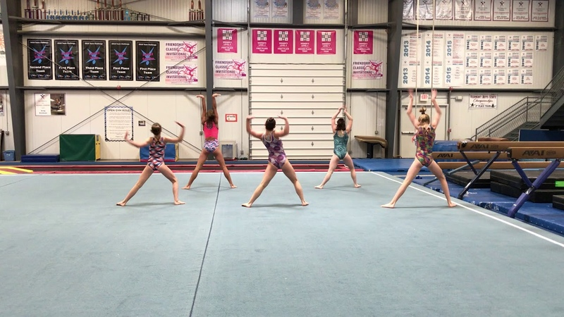 2018 Choreographed Warm Up PRECISION CAMPS