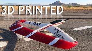 3D Printed RC Wing Flight Review - 3DAeroventures